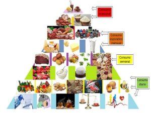 ¿Cómo debería ser una pirámide nutricional correcta?